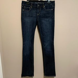 American Eagle Straight jeans, size 8